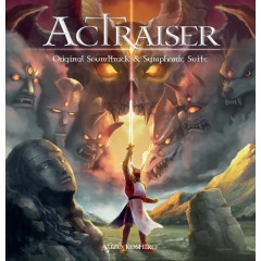 ActRaiser Original Soundtrack & Symponic Suite (CD)