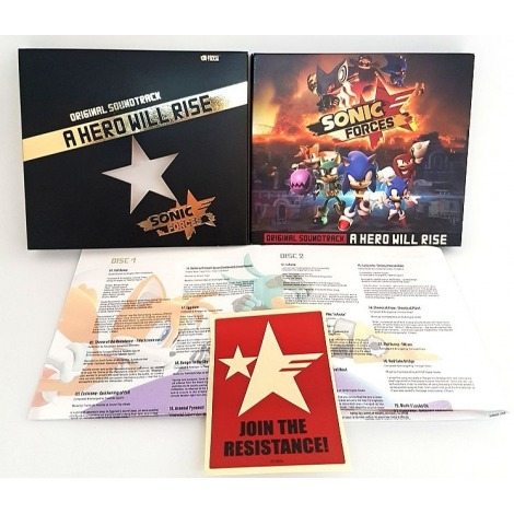Coffret Collector OST intégrale de Sonic Forces Sonic-forces-original-soundtrack-a-hero-will-rise