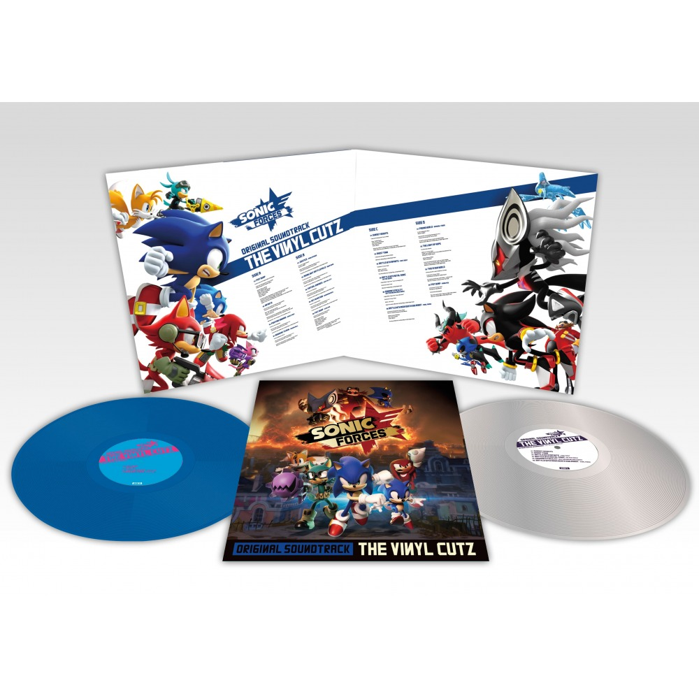Sonic Forces Original Soundtrack The Vinyl Cutz