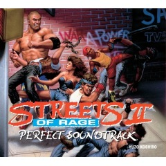 Streets of Rage 2 Perfect Soundtrack (CD)