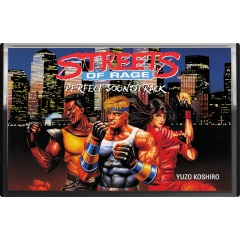 Streets of Rage Perfect Soundtrack (Cassette)