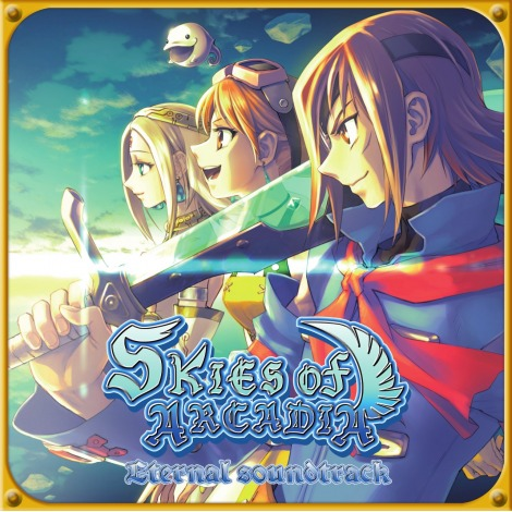 Skies of Arcadia Eternal Soundtrack CD Edition