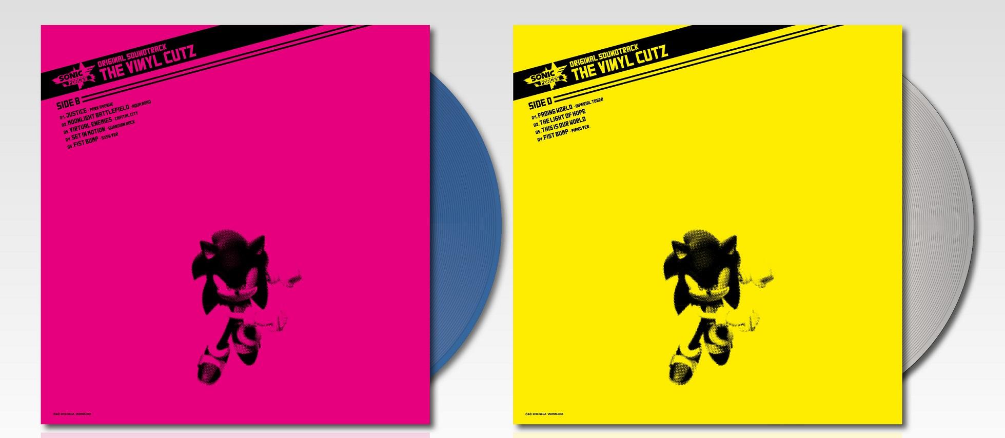 Sonic Forces Vinyl