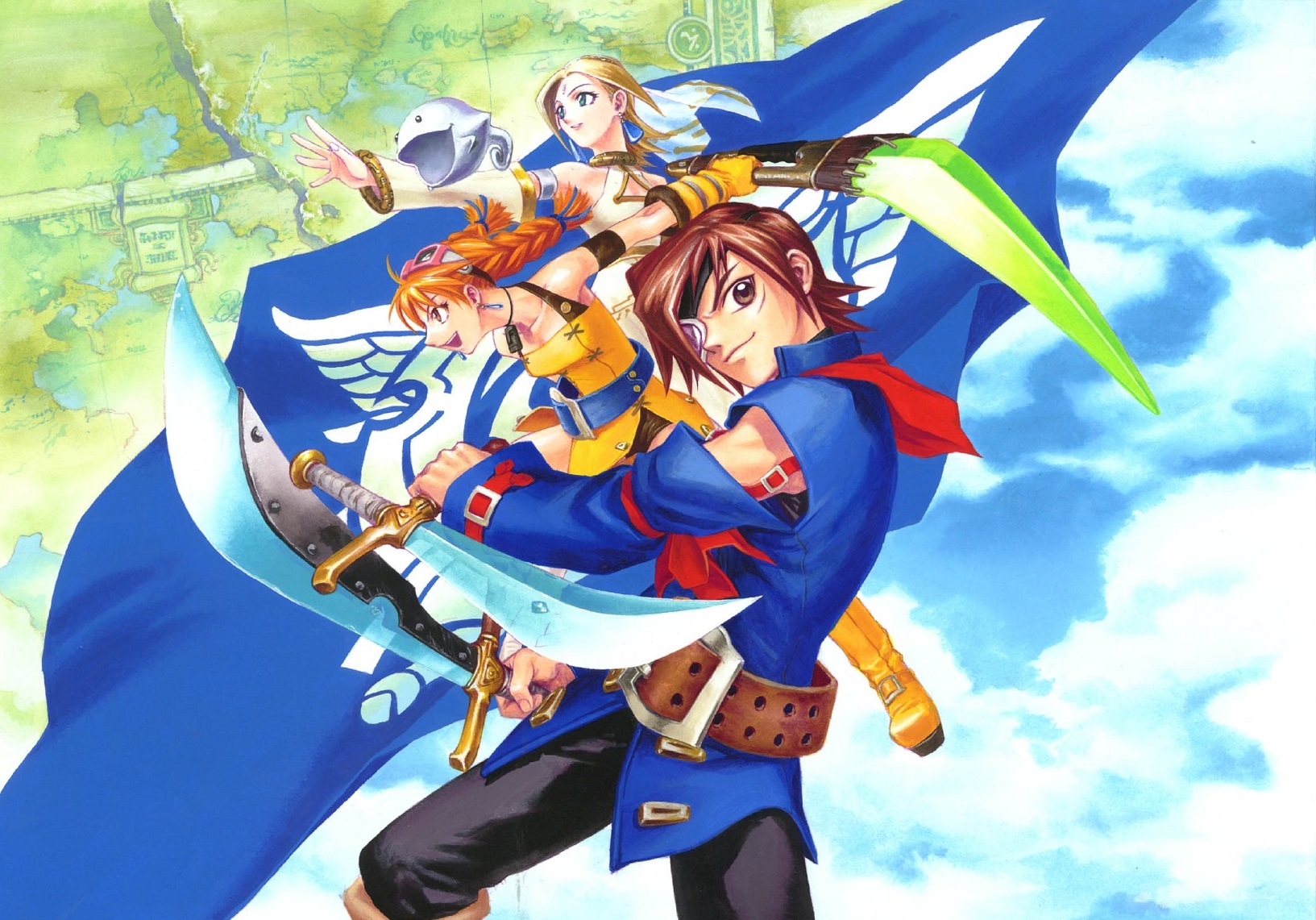 Skies of Arcadia illustration